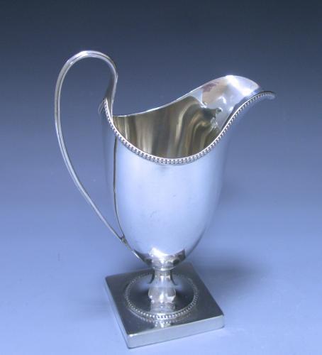 Antique Silver George III Sterling Silver Cream Jug