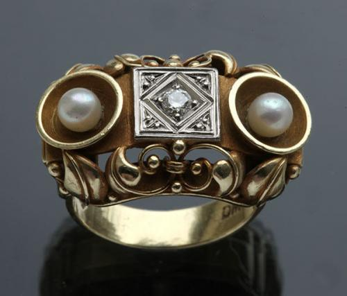 WIENER WERKSTATTE Style 'Eye Idol' Ring