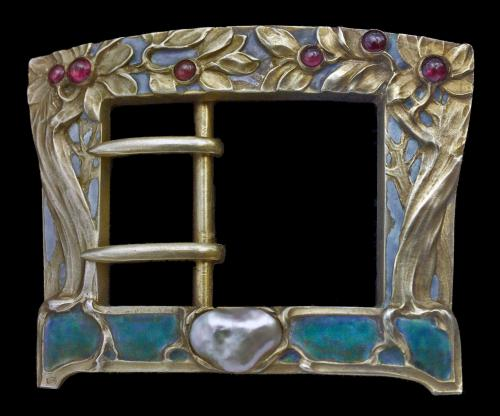 ART NOUVEAU 'Tree of Life Buckle'
