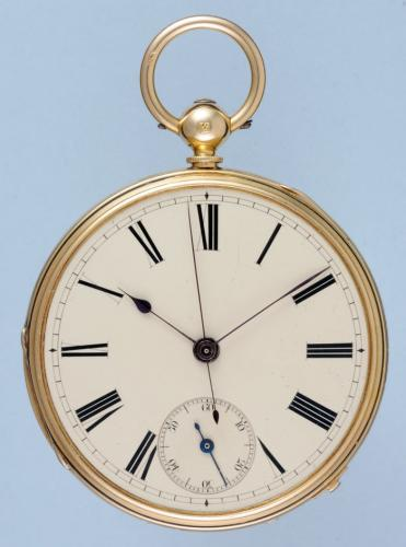 Gold Independent Seconds Lever Pocket Watch