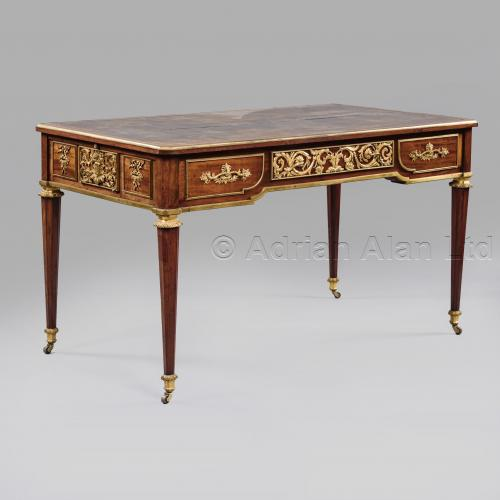 Bureau Plat In The Manner of Riesener ©AdrianAlanLtd