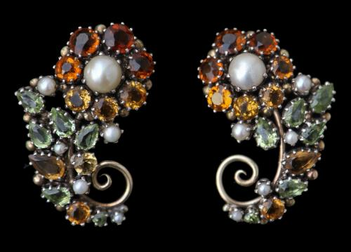 DORRIE NOSSITER (1893-1977) ARTS & CRAFTS Earrings
