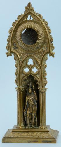 Gilt Gothic Watch Stand