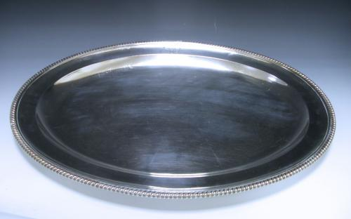 A George III Sterling Silver Meat Dish