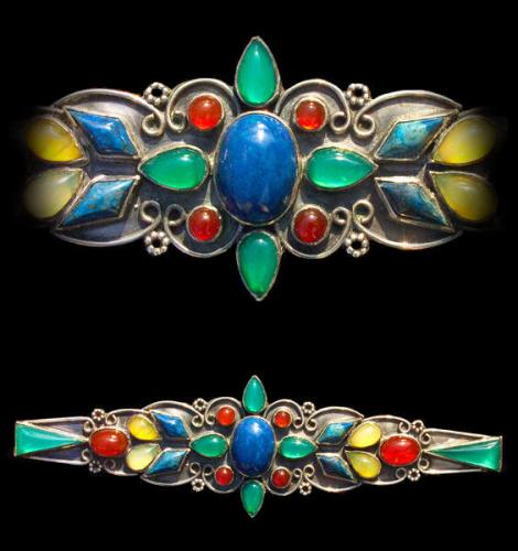 Arts & Crafts Brooch Attributed to SIBYL DUNLOP (1889-1968)