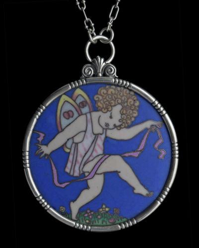 PHOEBE STABLER (1879-1955) HAROLD STABLER (1872-1945) Arts & Crafts 'Fairy Pendant'