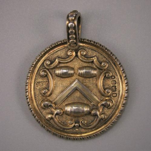 GEORGE IV Vintners' Company Silver Gilt Livery Medal. London 1822