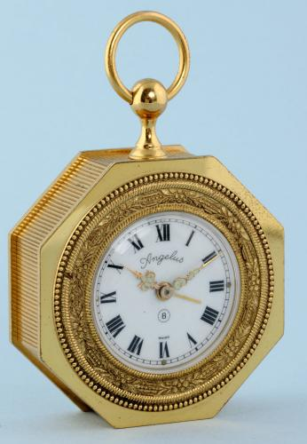 Octagonal Alarm Watch