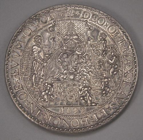 ELIZABETH I Protestants Supported in Belgium. 1587. Rare.