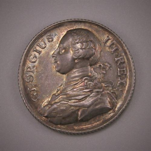 ACCESSION of KING GEORGE III Medal. London 1760