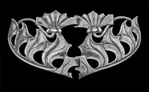 BIRMINGHAM GUILD OF HANDICRAFT (worked c.1890-c.1950) Art Nouveau Buckle