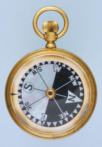 Travelling Barometer and Compass Set