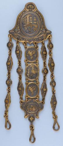 Gilt Metal Chatelaine