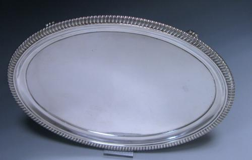Antique George III Sterling Silver Salver