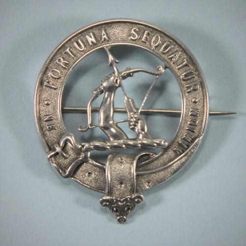 Antique Silver Scottish Clan Badge - Gordon (Earl of Aberdeen). Circa 1870