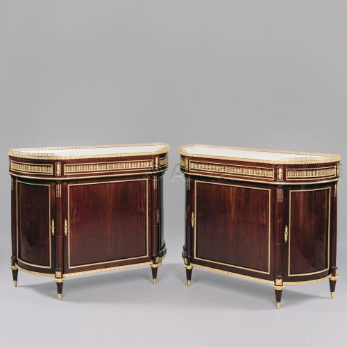 Pair of Side Cabinets ©AdrianAlanLtd