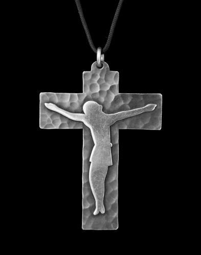 JEAN DESPRES (1889-1980) Art Deco Pectoral Cross