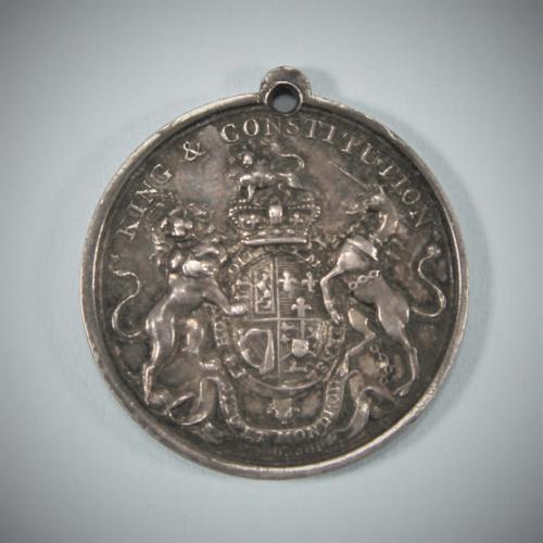 IRISH Orange Order Medal by William Mossop. Circa 1798