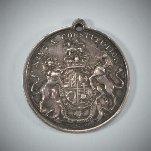 IRISH Orange Order Medal by William Mossop. Circa 1798