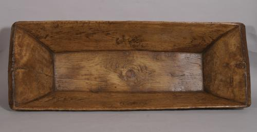 S/3498 Antique Late 19th/Early 20th Century Pine Trough