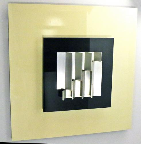 ANTHONY HILL (born 1930) Relief Structure C3