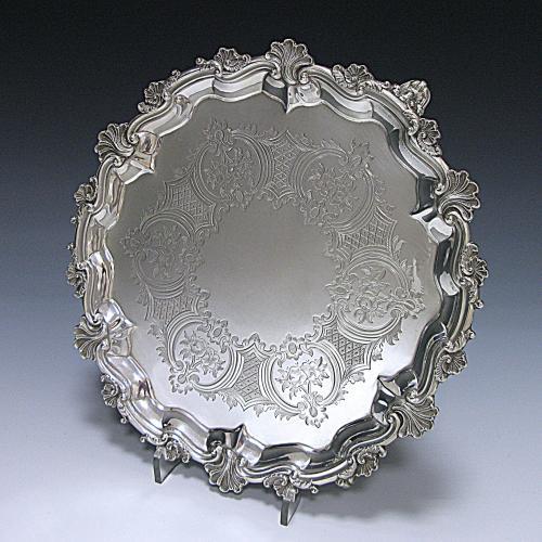 Antique Sterling Silver Salver
