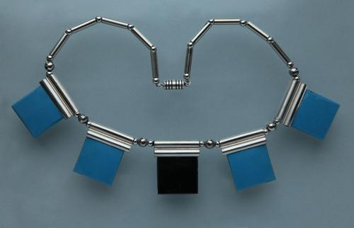JAKOB BENGEL Art Deco Necklace