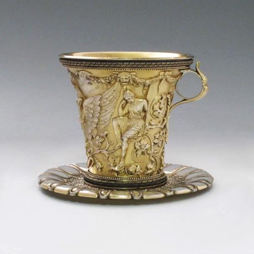 The Apotheosis Cup of Homer: A Victorian Electrotype