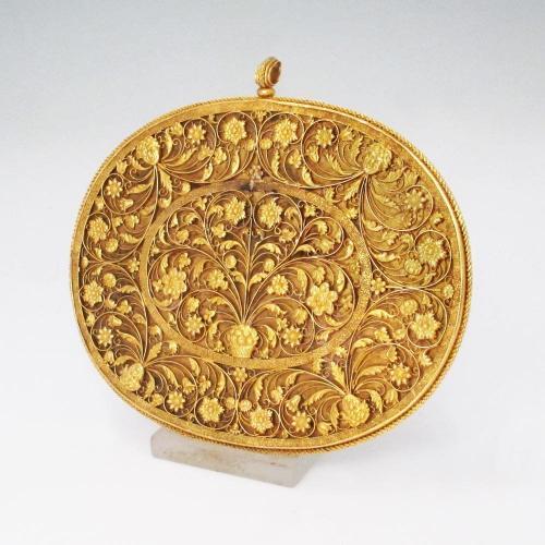A Rare Charles II Antique Gold Mirror