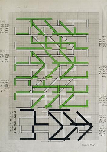KENNETH MARTIN (1905-1984) Metamorphoses Green