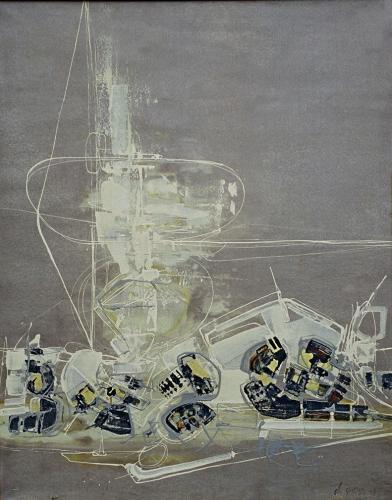 CLAUDE GEORGES (1929-1988) Composition 171