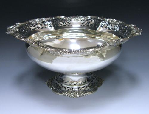 An Edwardian Antique Sterling Silver Bowl