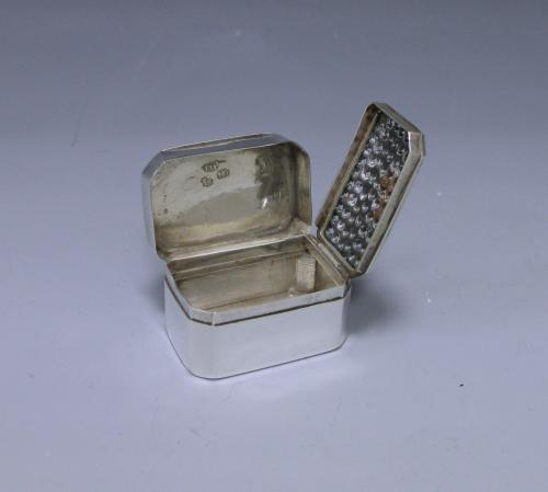George III Antique Sterling Silver Nutmeg Grater