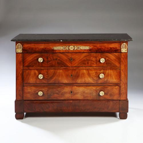 An Early 19th Century Empire Commode
