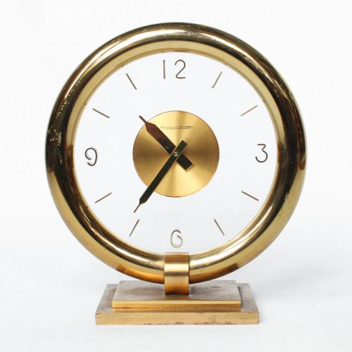 Jaeger Le Coultre Art deco clock