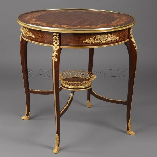 Centre Table Attributed to Linke ©AdrianAlanLtd