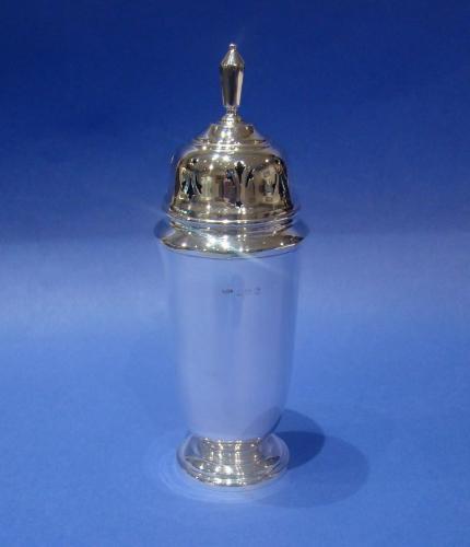 Art Deco Silver Sugar Caster