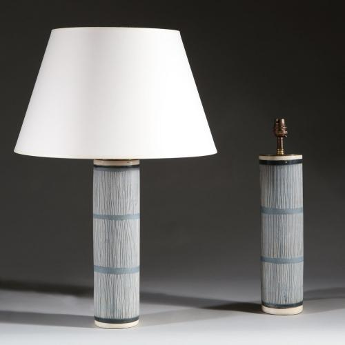 A Pair of Studio Pottery Lamps