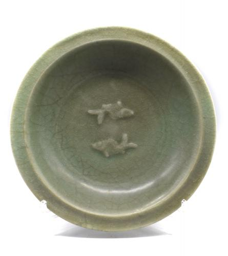Celadon Fish Dish
