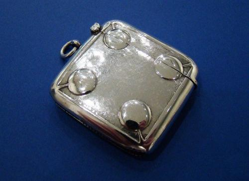 Arts & Crafts Silver Vesta Case