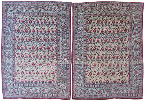 pair of Tehran rugs
