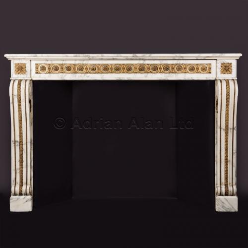 Louis XVI Style Fireplace ©AdrianAlanLtd