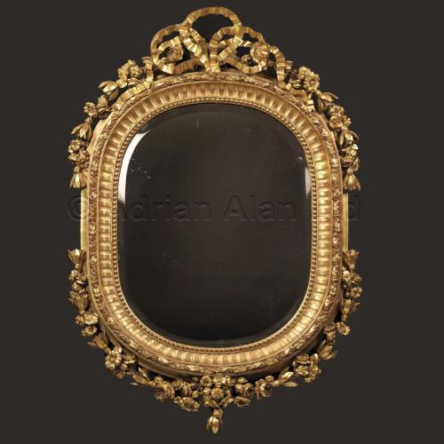 Oval Giltwood Mirror ©AdrianAlanLtd
