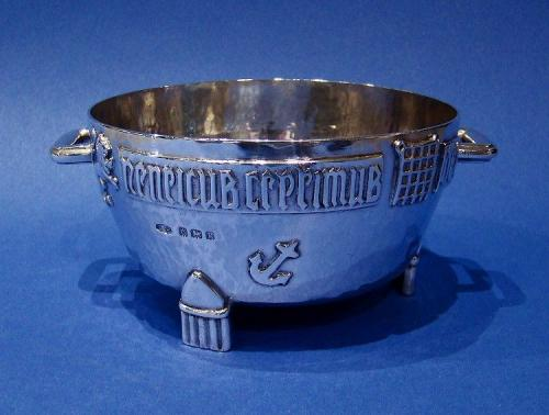 'The Winchester Bushel' An Arts & Crafts Silver Sugar Bowl