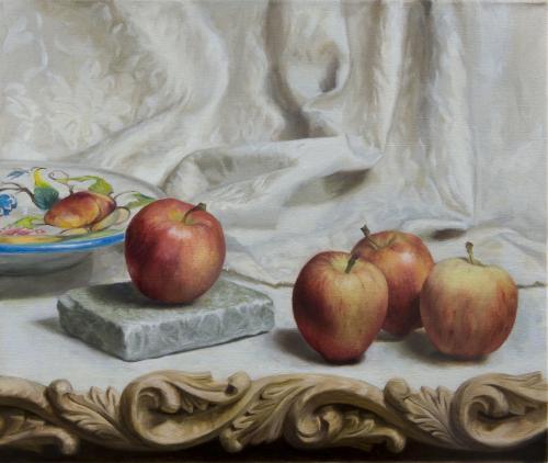 Four Apples - Marilyn Bailey
