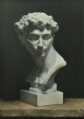 Giuliano De Medici - Oil on Canvas by Marilyn Bailey
