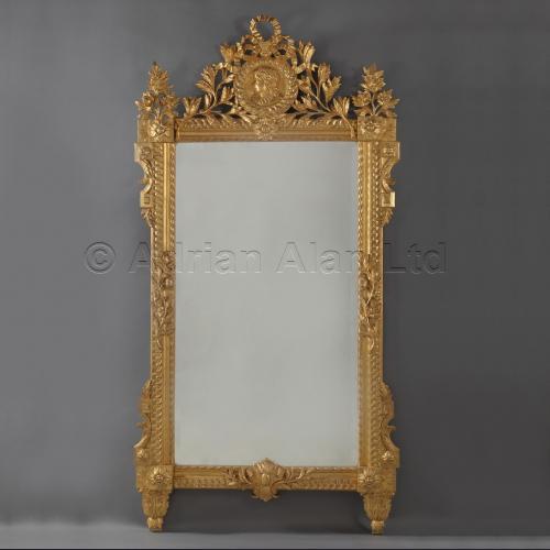 Louis XVI Style Giltwood Mirror ©AdrianAlanLtd
