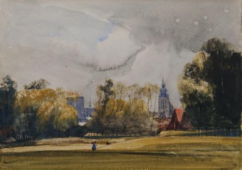 Brussels, Thomas Shotter Boys, RWS (British, 1803–1874)
