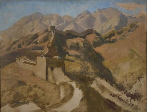 The Great Wall of China - Sir Gerald Festus Kelly, P.R.A. (British 1879-1972)