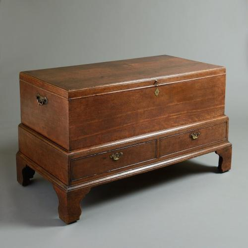 GEORGE I OAK MULE CHEST